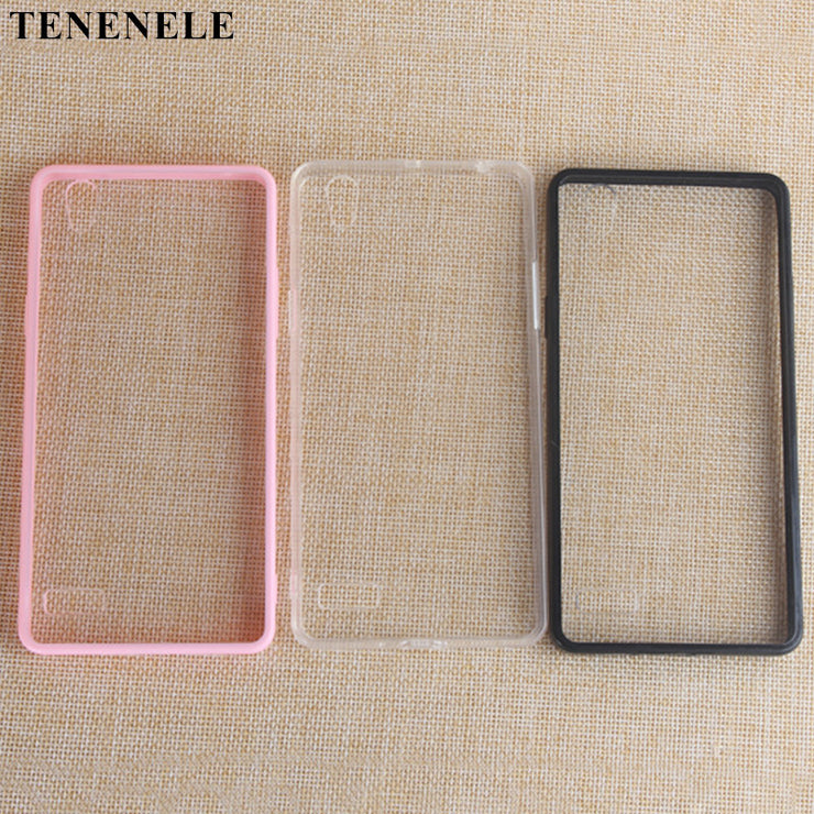 TENENELE Case For OPPO A51 Mirror 5 Cases Simple Style Cover Fashion Soft Silicone TPU Case For OPPO A51 Mirror5 Coque Pink Case