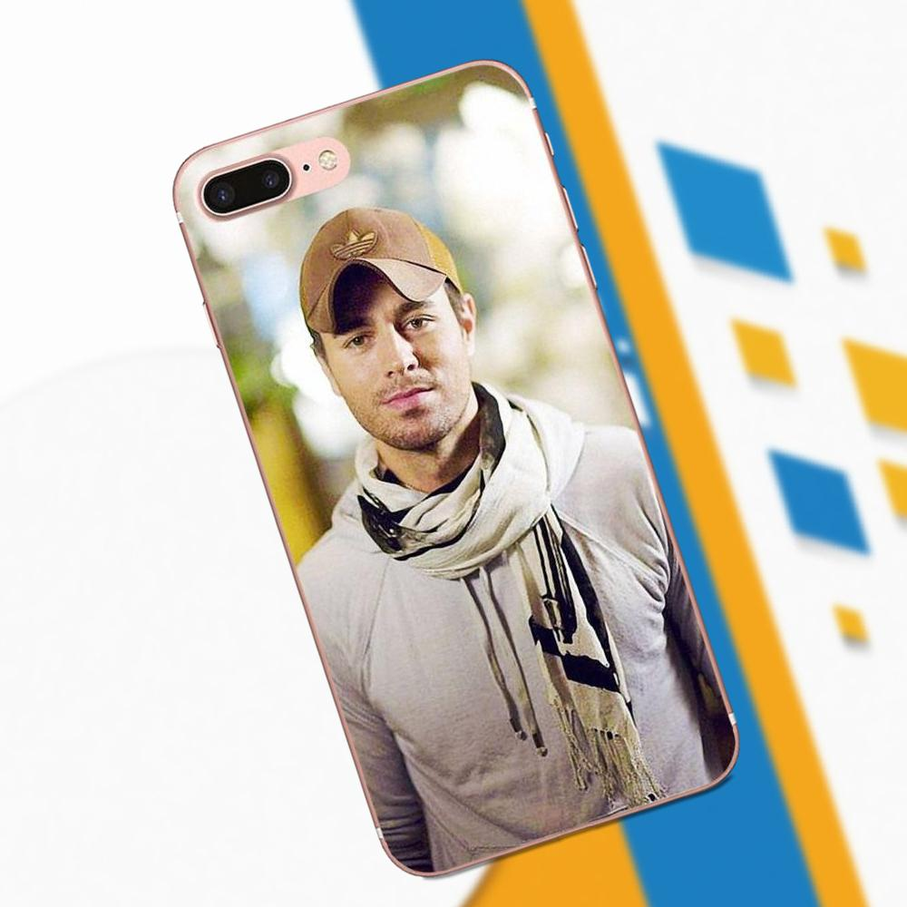 TPU Luxury For Huawei Mate 7 8 9 10 P7 P8 P9 P10 P20 Lite Plus Pro GR5 P Smart 2017 Handsome Singer Enrique Iglesias