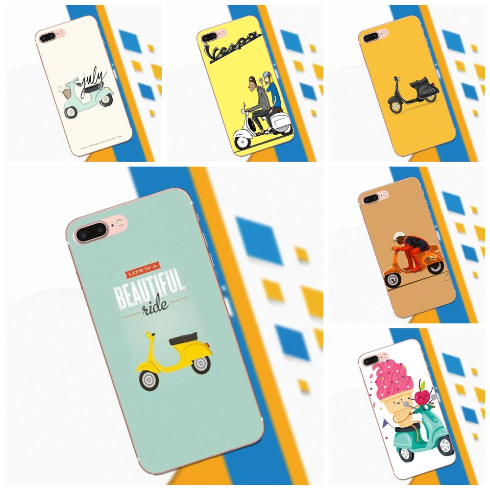 TPU Phone For Samsung Galaxy Note 2 3 4 5 8 9 S3 S4 S5 S6 S7 S8 S9 Mini Edge Plus Cute Ride Pattern