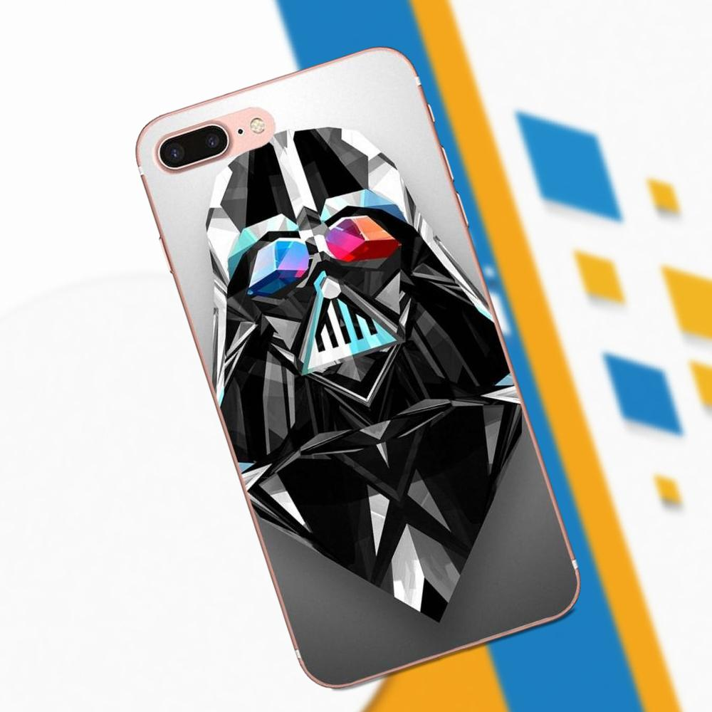 TPU Print Cover Case For Huawei P7 P8 P9 P10 P20 Mate 7 8 9 10 Lite Plus Pro GR5 P Smart 2017 Retro Star Wars Darth Vader