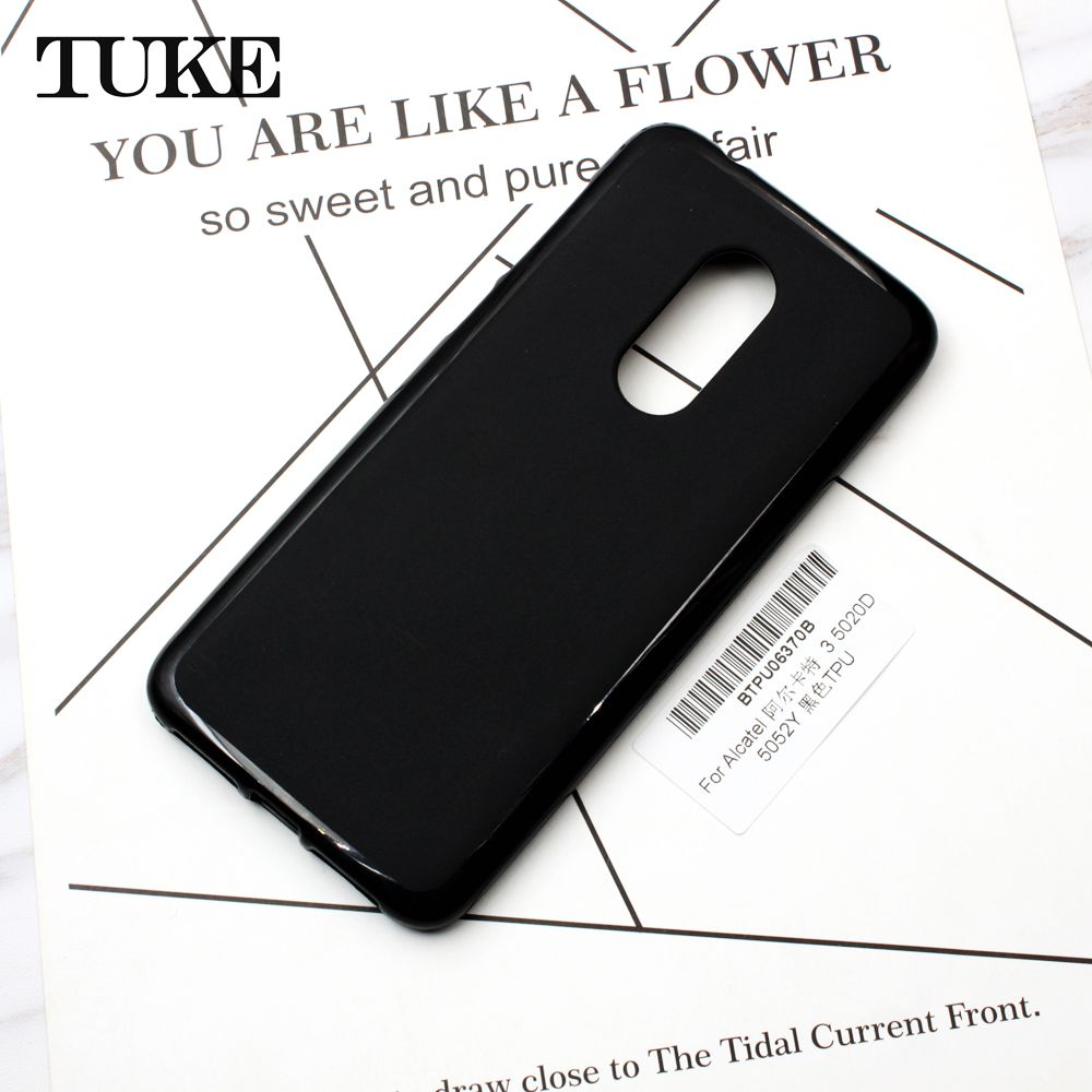 TUKE For Alcatel 3 5020D 5052Y Case Silicone Shell Soft Phone Case Cover For For Alcatel 1C 3C Dual 5009A 5009D 5026D 3V 3X Case
