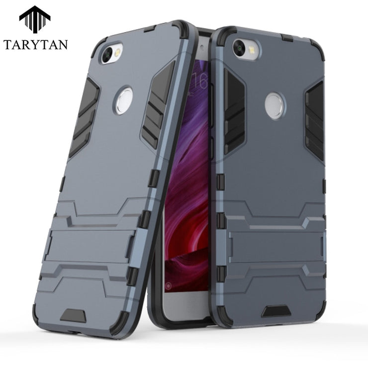TaryTa 2 In 1 Armor Cases Cool Armor Case For Xiaomi Redmi Note 5A Case Silicon Shockproof 2 IN1 Hybrid For REDMI Y1 LITE Cover