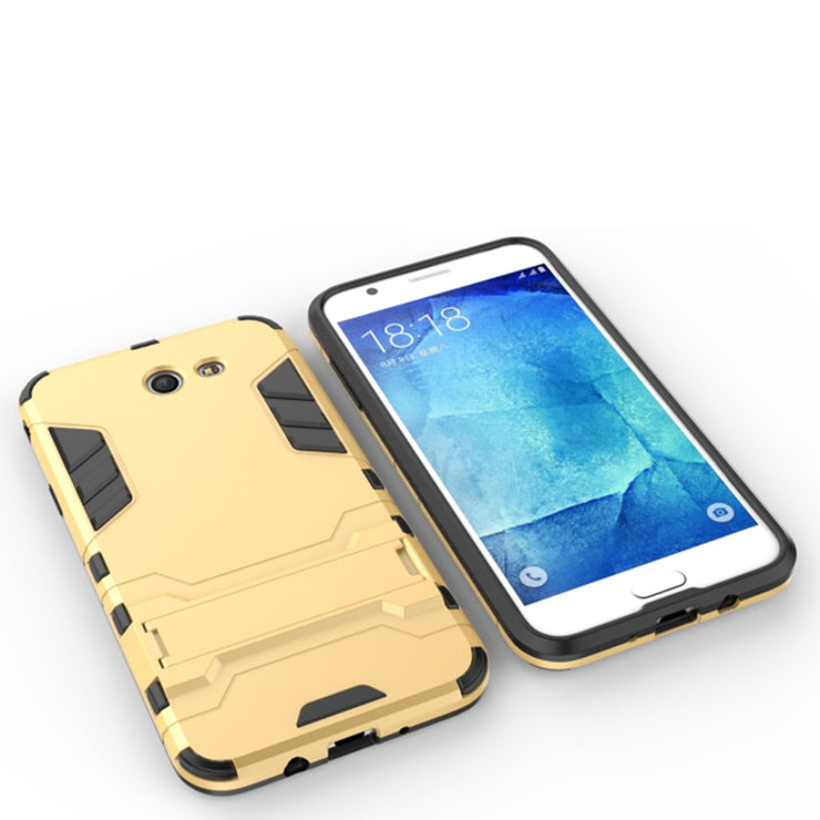 TaryTan 2 In 1 Armor Cases Amor Case For Samsung Galaxy J7 2017 Cover US Version Hybrid Kickstand 2in1 Housing Fundas Carcasa