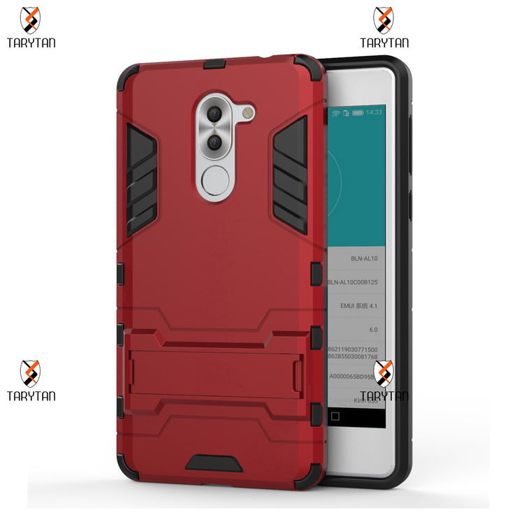 TaryTan 2 In 1 Armor Cases Armor Phone For Huawei Honor 6x 2016 Case Rugged Hybrid Cover GR5 2017 Honor Play 6X Mate 9 Lite Bags