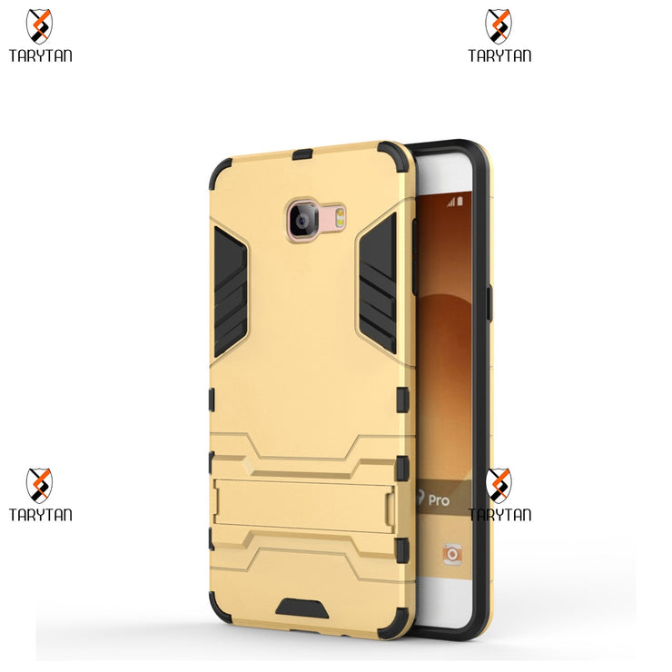TaryTan 2 In 1 Armor Cases Back Covers For Samsung Galaxy C9 Pro C5 Pro C7 Pro Case Hybrid Kickstand Phone Cover Housing Fundas