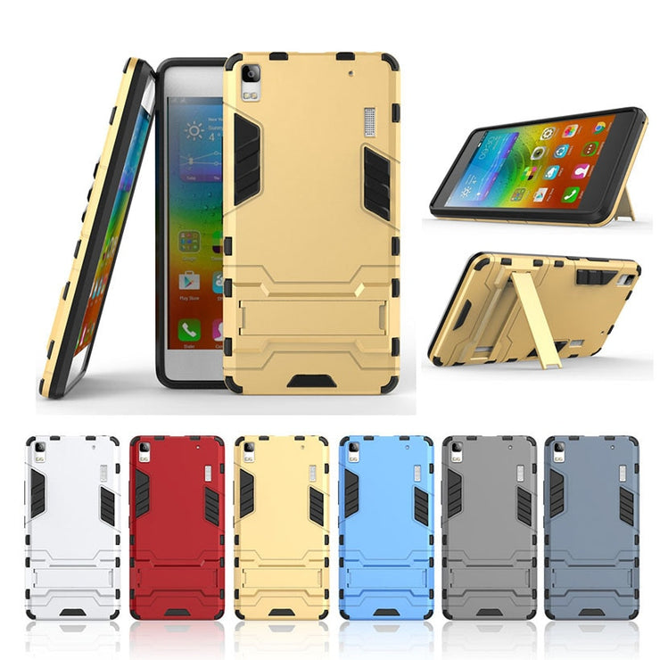 TaryTan 2 In 1 Armor Cases Covers For Lenovo K3 Note Case TPU+PC Armor Anti-Knock Phone Shell A6000 Plus K50 A7000 Plus Cover