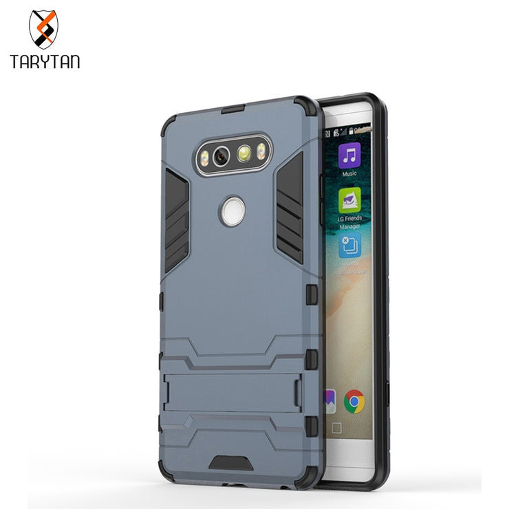 TaryTan 2 In 1 Armor Cases Phone Cases For LG V20 LG G6 Case TPU+PC Hybrid Kickstand Cover Dual Cover Housing Fundas Shell Phone