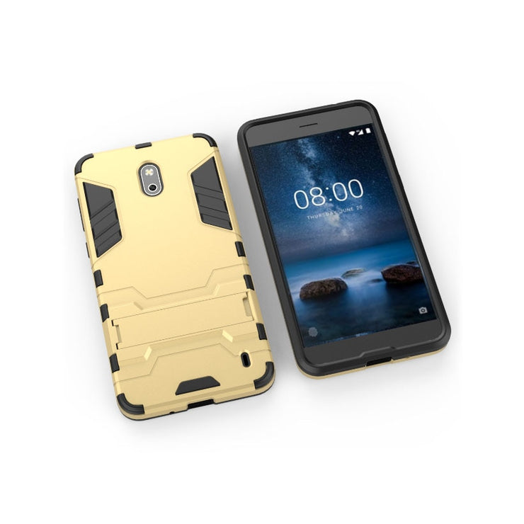 TaryTan Cool Armor Case For Nokia 2 Case 2 In 1 Armor Cases Silicon Shockproof 2 IN1 Hybrid For Nokia 2 Cover Coque Protective