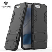 TaryTan Kickstand Mobile Phone Cases For Asus Zenfone 4 ZE554KL Case PC+TPU 2in1 Hybrid Army Armor 2 In 1 Armor Cover Fundas Bag