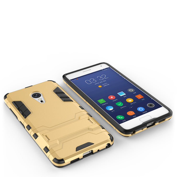 TaryTan Luxury TPU + PC Hybrid Kickstand 2 In1 Mobile Phone Cases For Lenovo ZUK Z2 Pro Covers Shell Armor Skin Hood Housing Bag