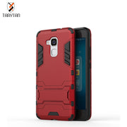 TaryTan TPU+PC Hybrid Kickstand 2 In1 Mobile Phone Cases For Hawei Honor 5C GT3 Honor 7 Lite Honor5C Honor7 Lite Cover Fundas
