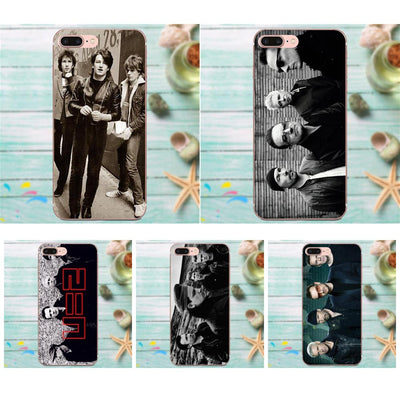 U2 Irish Pop Punk Rock Band Back Phone Case For Apple IPhone 4 4S 5 5C 5S SE 6 6S 7 8 Plus X XS Max XR