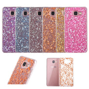 Ultra Thin Glitter Bling Gold Foil Decorative Soft Case Cover For Samsung Galaxy A5 2016 A510 Phone Case Coque Fundas Capa