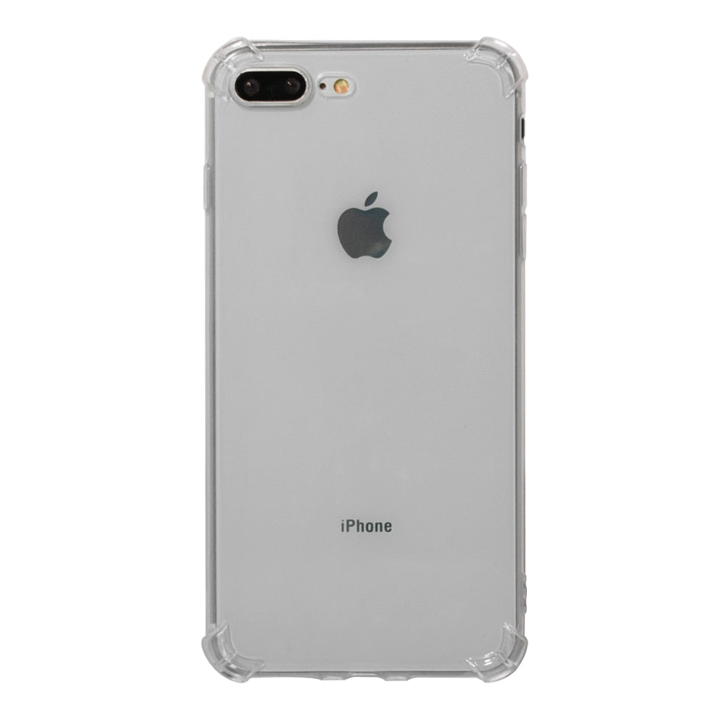 Ultra Thin Clear Transparent TPU Silicone Case For IPhone X XS MAX XR 6 7 6S Plus Protection Phone Case For IPhone 8 7 Plus 5 5s