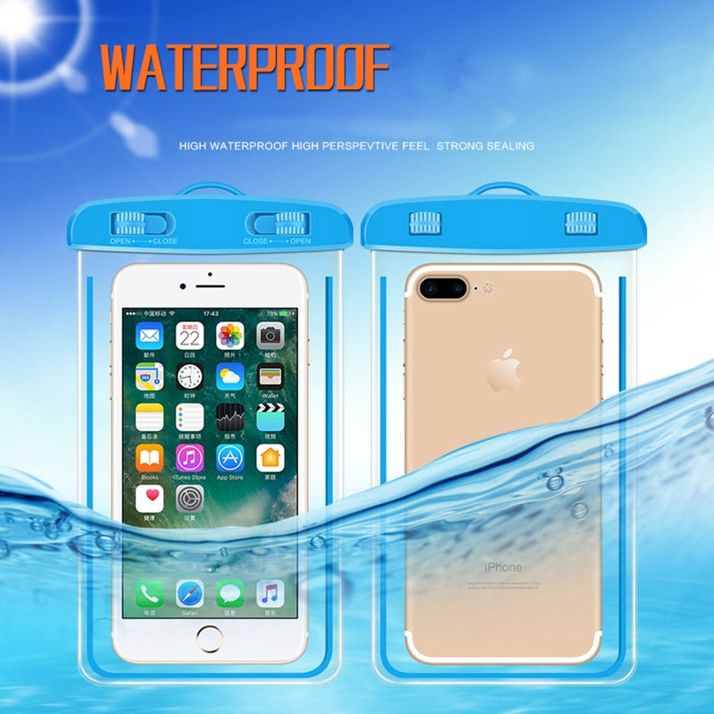 Universal Waterproof Cover Case Bag For Microsoft Nokia 6 Lumia 435 532 535 540 550 640 640XL 650 850 520 530 625 630 720 730