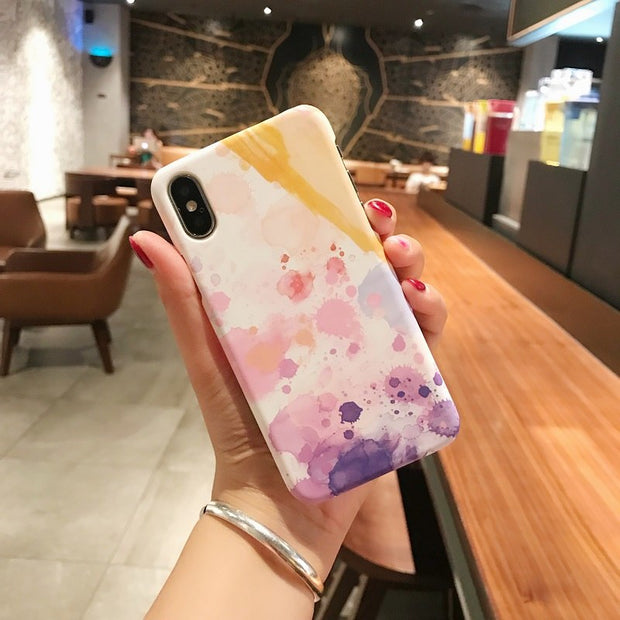 VIVIAUG Luxury Marble Pattern Phone Case For IPhone X 6 6s 6Plus 6s Plus Ultraslim Hard PC Cases Back Cover For IPhone 8 7 Plus
