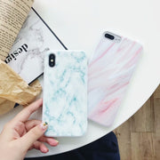 VIVIAUG Soft TPU Case For IPhone 6 6S 7 8 SE X Plus Cover Marble Patterned Silicone For IPhone 7 6 S 8 5S 5 X Case Phone Coque
