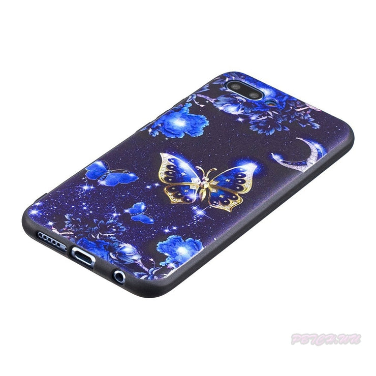 Varnish Relief Case For Huawei Honor 10 COL-L29 COL-L29A Soft TPU Mobile Phone Cover For Huawei Honor10 COL L29 L29A Bag Capa
