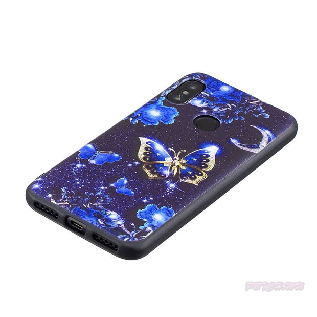 Varnish Relief Case For Xiaomi Redmi A2 LITE A2Lite Soft TPU Mobile Phone Cover For Xiao Mi Redmi 6 PRO 6Pro 2 A Silicone Bag
