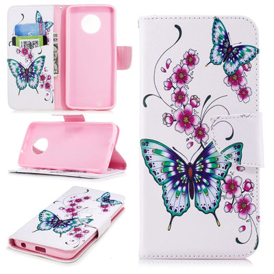 "Wallet Case For Fundas Motorola G 6 Plus Case Cover For Coque Motorola Moto G6 Plus / Moto G6 Plus Case 5.93"" + Card Holders"