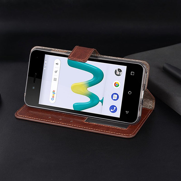 Wallet Case For Wiko Sunny 3 Mini Case Flip PU Leather Phone