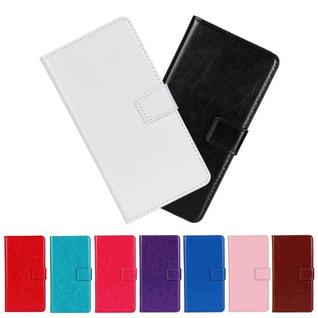 Wallet Crazy Horse Lines PU Leather Flip Cover Case Stand Holder Card Slot Cases Capa For Nokia LUMIA 930 N930 FZ