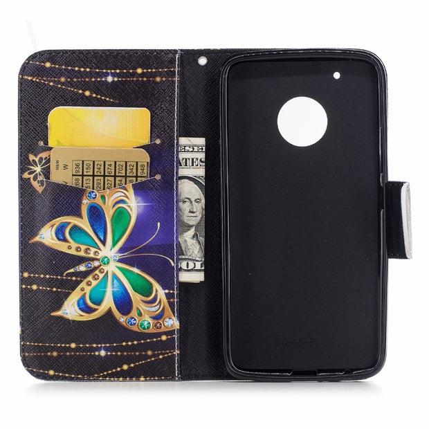 Wallet Magnet Flip Cover Leather Case SFor Coque Motorola Moto G5 Case For Fundas Motorola Moto G5 Plus Phone Cases