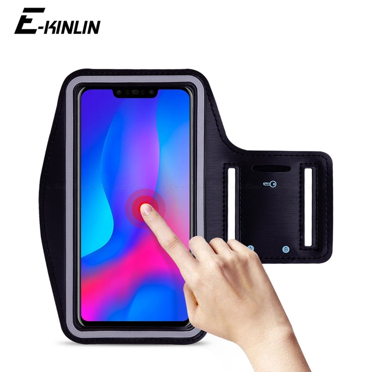 premium selection 9c959 2d056 Waterproof Running Sport Gym Arm Band For HuaWei Nova 4 3i 3 3e 2i 2S 2  Plus Lite 2017 Smart Young Phone Holder Case Cover