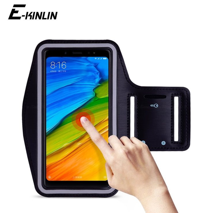 meet ce159 7477b Waterproof Running Sport Gym Arm Band For XiaoMi Redmi Note 7 5 AI Dual  Camera S2 6 6A 5A Pro Prime Plus Phone Holder Case Cover