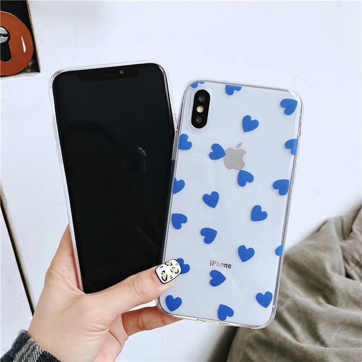 With Video Double Color Love Luxury Case For IPhone XS MAX 8 8Plus 7 7Plus 6 6Plus 6sPlus 5 5s SE 6s Plus Cover Cases