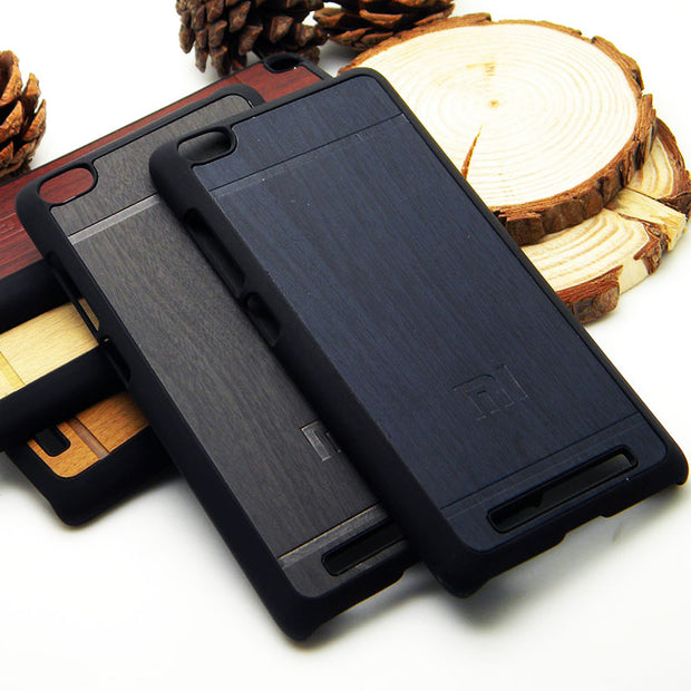 Wood Pattern Case For Xiaomi Mi4 Mi5 Mi3 Mi4i Mi Redmi3 Redmi2 Redmi 3 2 Note Vintage RetroStyle Total 4 Colors Available