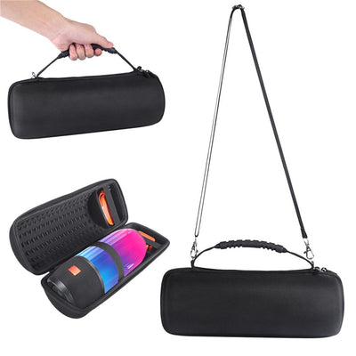 XBERSTAR EVA Hard Case For JBL Pulse 3 Speaker Carry Storage Case Pouch For JBL Pulse3 Bluetooth Speaker Black With Belt