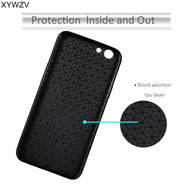 "XYWZV For OPPO A59 Case 5.5"" Soft TPU Silicone Shockproof Phone Case For Oppo A59 Cover OppoA59 Coque Oppo A59 / F1S Fundas"