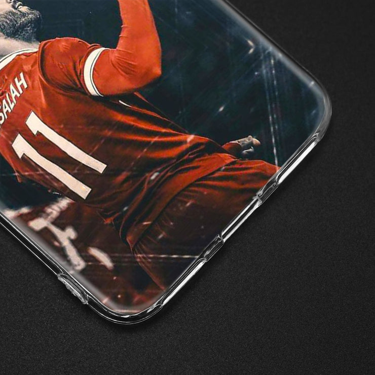 YAETEE Egypt Football Player Mohamed Salah King 11 Silicone Case For Xiaomi Pocophone F1 Mi A2 Lite A1 Redmi Note 4X 5 5A 6 Pro