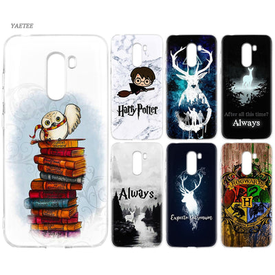 YAETEE Harry Potter The Deathly Hallows Silicone Case For Xiaomi Pocophone F1 Mi A2 Lite A1 Redmi Note 4X 5 5A 6 Pro S2 Plus