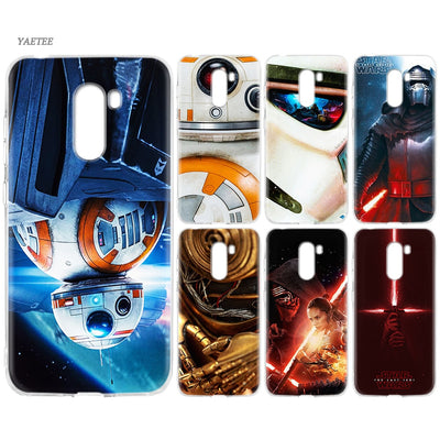 YAETEE Star Wars Darth Vader Yoda Silicone Case For Xiaomi Pocophone F1 Mi A2 Lite A1 Redmi Note 4X 5 5A 6 Pro S2 Plus