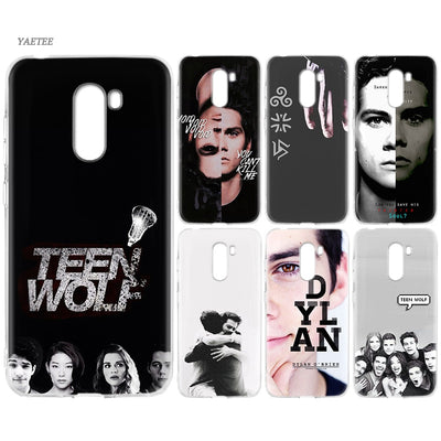 YAETEE Teen Wolf STILINSKI 24 Words Silicone Case For Xiaomi Pocophone F1 Mi A2 Lite A1 Redmi Note 4X 5 5A 6 Pro S2 Plus
