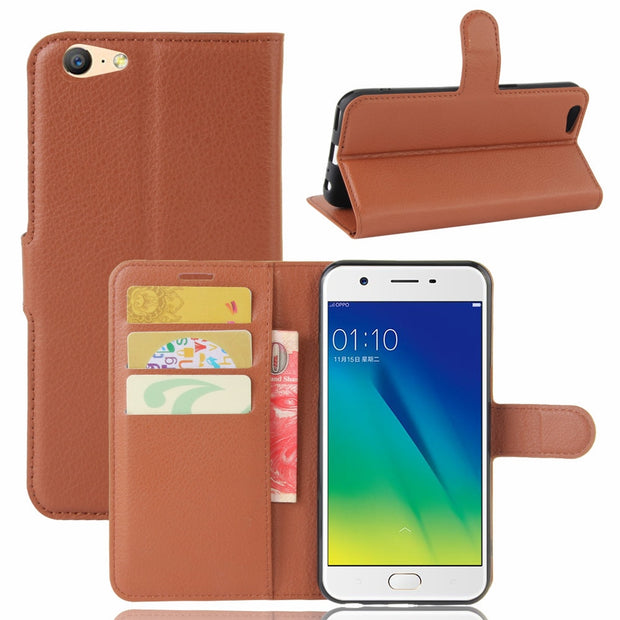 "YINGHUI For Oppo A57 A39 Phone Case Luxury Flip PU Leather Back Cover For Oppo A57/A39 5.2"" Cases With Stand Function Capa Coque"