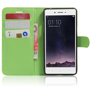 YINGHUI Luxury Leather Cover For Oppo F1 / Oppo A35 5.0 Inch Phone Case With Stand Wallet Style Flip Cover Bags Skin For Oppo F1