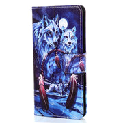 YOKIRIN Wallet PU Leather Case For Sony Xperia XA Colorful Painting Flip Back Cover For Xperia XA Phone Bag Credit Card Holder