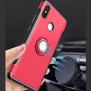 YOYO DEER Hybrid Case For Xiaomi Mi Max 3 Magnetic Car Holder Shockproof TPU+PC Back Cover For Xiaomi Mi Max 3 Phone Cases