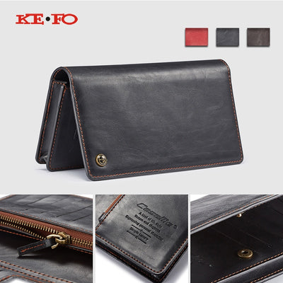 Zipper Flip Leather Wallet Case For Redmi Note 5 Xiaomi Mi 8 Lite Global Version For Xiaomi Mi A1 MiA1 Mi Max 3 Universal Bag