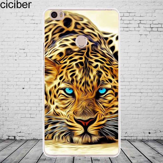 Ciciber Animal Lion Tiger For Xiaomi MIX MAX 3 2 1 S Pro Harry Potter Phone Case For Xiaomi A2 A1 8 6 5 X 5C 5S Plus SE Cover