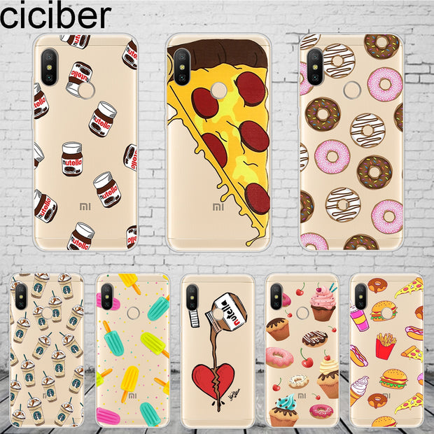 Ciciber Cartoon Chocolate Donuts For Xiaomi Redmi6 5 4 3 A X S 3S Plus Pro IPhone Case For Redmi Note 6 5 4 X A Pro Harry Potter