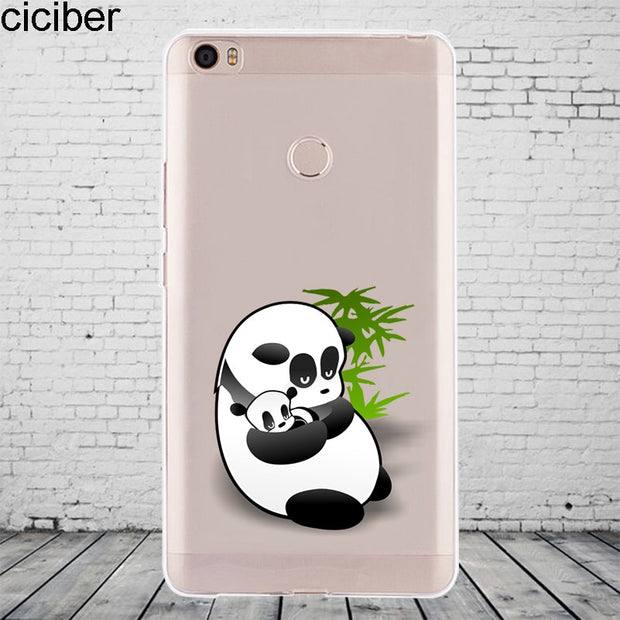 Ciciber Cute Animal Pandas For Xiaomi MIX MAX 3 2 1 S Pro Harry Potter Phone Case For Xiaomi A2 A1 8 6 5 X 5C 5S Plus SE SoftTPU