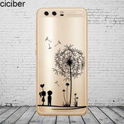 Ciciber Cute Patterned For Honor 10 9 8 Pro Lite X C Play Phone Case For Y 9 7 6 5 Prime Pro 2017 2018 2019 Coque SiliconeTPU