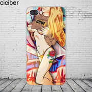 Ciciber Fashion Girls Woman For ASUS ZenFone5 4 3 3S Max Pro Plus Laser Deluxe Selfie Z Q Lite Phone Case Silicone TPU Cover