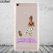 Ciciber Fashion Mom Girl For Xiaomi MIX MAX 3 2 1 S Pro Harry Potter Phone Case For Xiaomi A2 A1 8 6 5 X 5C 5S Plus SE Cover