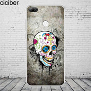 Ciciber Fashion Retro Skull For Honor10 9 8 Pro Lite X C Play Phone Case For Y 9 7 6 5 Prime Pro 2017 2018 2019 Coque Capa TPU