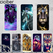 Ciciber Girls Woman For Samsung Galaxy S 5 6 7 8 9 Edge Plus Phone Case Silicone TPU For Galaxy Note 5 8 9 Cover Fundas Coque
